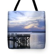 The River At Dusk Tote Bag