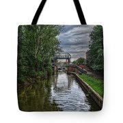 The River Foss Meets The River Ouse Tote Bag