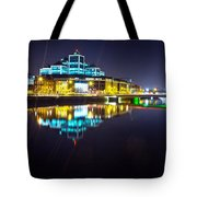 The River Liffey Night Romance 2 Tote Bag