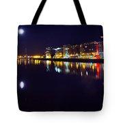 The River Liffey Night Romance V2 Tote Bag