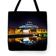 The River Liffey Reflections 2 Tote Bag