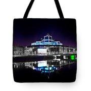 The River Liffey Reflections 2 V2 Tote Bag
