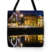 The River Liffey Reflections Tote Bag