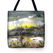 The River Nistru IIi Tote Bag