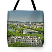 The River Of Paris Tote Bag
