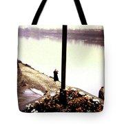 The River Seine 1955 Tote Bag