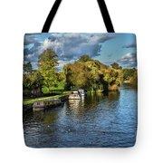 The River Thames At Wallingford Tote Bag