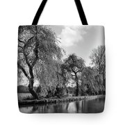 The River Wey,guildford, Surrey,england  Tote Bag
