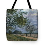 The Road From Versailles To Louveciennes Tote Bag