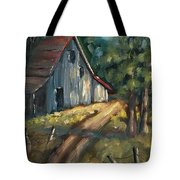 The Road Leads Home Tote Bag