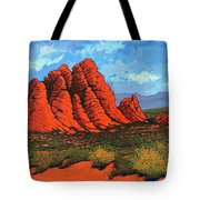 The Road To Babylon Tote Bag