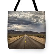 The Road To Death Valley Tote Bag