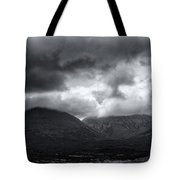 The Road To Elgol Tote Bag