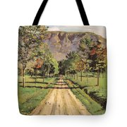 The Road To Evordes Tote Bag