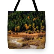 The Road To Fall Tote Bag