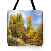The Road To Josie's Cabin Tote Bag