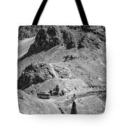 The Road To Ladakh Bw Tote Bag