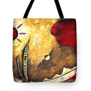 The Road To Life Original Madart Painting Tote Bag