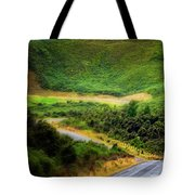 The Road To Milford Sound Tote Bag