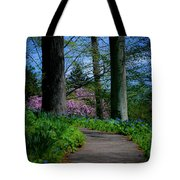 The Road To Peace And Quiet Tote Bag