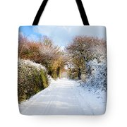 The Road To Restronguet Tote Bag