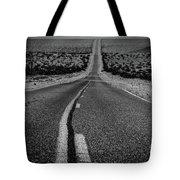 The Road To Shoshone Tote Bag