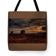 The Road To Sunrise Tote Bag