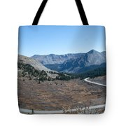 The Road To The Continental Divide Tote Bag