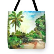 The Road To Tiwi Tote Bag