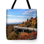 The Road To Winter Tote Bag