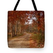 The Road Untraveled Tote Bag
