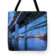 The Robert E Lee Bridge Tote Bag