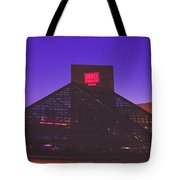 The Rock And Roll Hall Of Fame Tote Bag