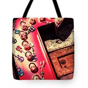 The Rock N Roll Concert Neon Tote Bag