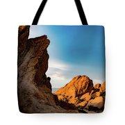 The Rocks Of Vasquez Tote Bag