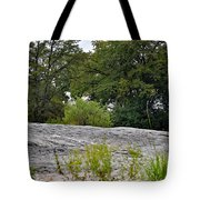 The Rocky Limestone Climb Tote Bag