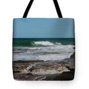 The Rocky Shore Tote Bag