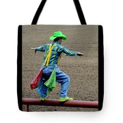 The Rodeo Clown Tote Bag