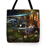 The Roger Painting Tote Bag