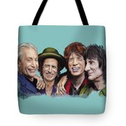 The Rolling Tongues Tote Bag