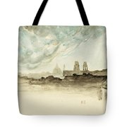 The Roofs Of Paris Tote Bag