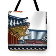 The Roofs Of Suwon Tote Bag
