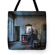 The Room Of The Castle Of The Phantom Of The Mirror Paint Tote Bag