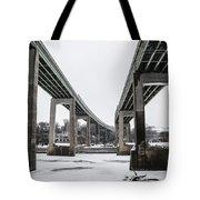 The Roosevelt Expressway Bridges Tote Bag