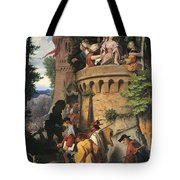 The Rose Or The Artist's Journey Tote Bag