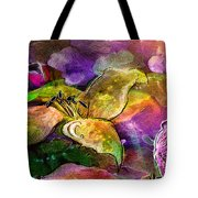 The Roses In The Sheep Dream Tote Bag