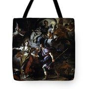 The Royal Hunt Of Dido And Aeneas Tote Bag