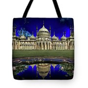 The Royal Pavilion At Sunrise Tote Bag