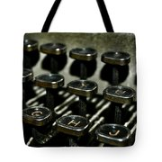The Royal Typewriter Tote Bag
