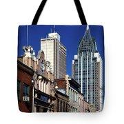 The Rsa Tower - Mobile Alabama Tote Bag